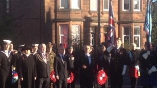 Remembrance Sunday in Dumfries