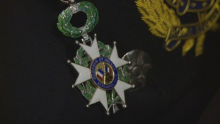 France's highest honour awarded to veterans