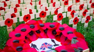 Remembrance Sunday services across the Midlands