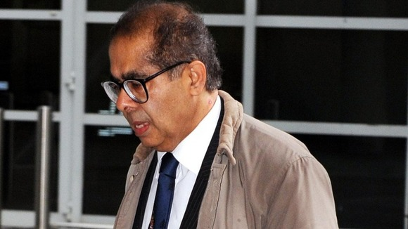 Dr Mohmed Saeed Sulema Patel, known as Freddy Patel, arrives for a General Medical Council disciplinary hearing in London in 2010