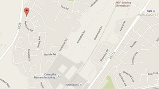 Emergency services were called to a house on Westbury Road at 5.45pm.