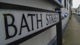 Police found the body of a man in a flat in Bath Street.