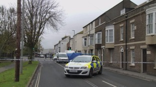 Four people have been arrested on suspicion of murder.