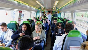 More people being allowed to work from home would help beat overcrowding on trains.