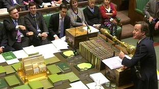 David Cameron, Ed Miliband, PMQs