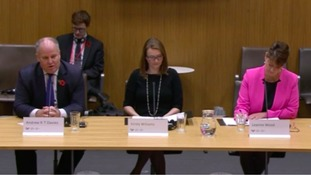 Andrew RT Davies, Kirsty Williams and Leanne Wood appear before the committee