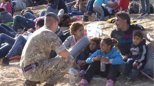 Refugees at RAF Akrotiri given Cyprus asylum ultimatum