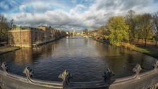 A blowy start to the week in York