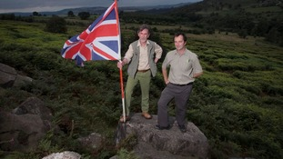 Roy Lingard, Head Forester at Chatsworth Estate and Dave Bole, Forestry Commission
