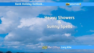 Heavy showers and sunny spells