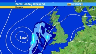 The unsettled theme continues into the weekend