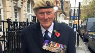 Peter Bennett is hoping to be reunited with his lost war medals