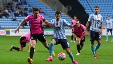 Northampton Town beat Coventry City to progress to round two.