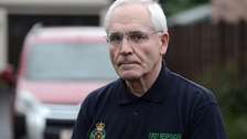 Roy had his phone stolen when he raced to help an injured pensioner.
