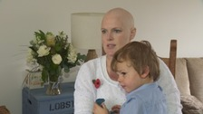 Heidi Loughlin found out she had a rare form of breast cancer when she was 13 weeks pregnant.
