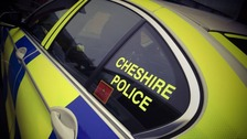 Cheshire police car.