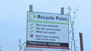 A recycling bank