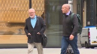 Tom Henderson (left) is accused of awarding contracts to his son's firm