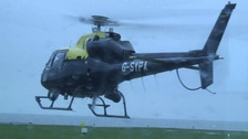 Dyfed Powys Police helicopter