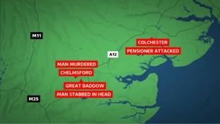 Essex stabbings: Three in seven hours