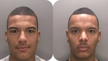 Kurtis Richard (left) and Lewis Richards (right) were both jailed