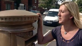 Clare Robson wants to preserve the bronze postbox