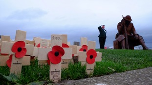 UK falls silent on Armistice Day to remember nation's war dead