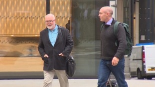 Tom Henderson (left) is accused of awarding contracts to his son's firm.