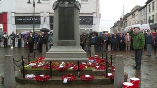 Armistice Day in Kendal.