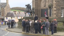 Armistice Day in Galashiels.