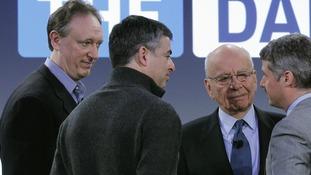 Jon Miller and Rupert Murdoch