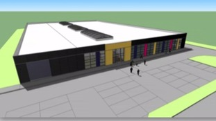 An artist's impression of the new training centre.