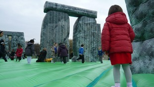 Inflatable replica of Stonehenge will visit Oldham