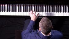 Nicholas McCarthy at the piano