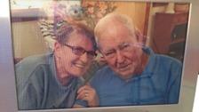 Betsie Corrigan with her husband Jim