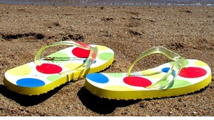 Summer footwear fell foul of some people's interpretation of health and safety