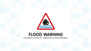 Flood warnings are in place along the Solway Coast.