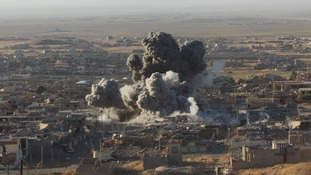 RAF jets and drones involved in offensive to retake Sinjar from Islamic State