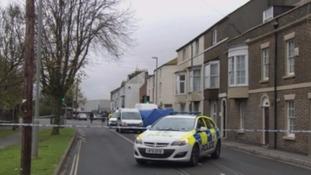 Weymouth murder scene
