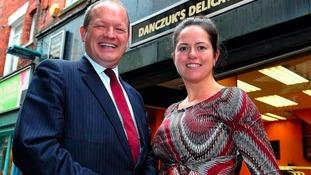 Simon and Karen Danczuk