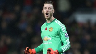 "De Gea thanks fans saying he's ""really happy"" at Manchester United"