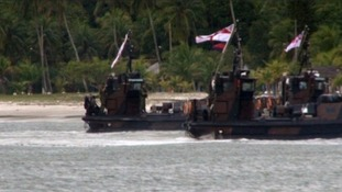 The Duke will see landing craft and raiding vessels as part of his visit