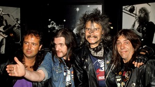 Phil Taylor (second from right) has died aged 61