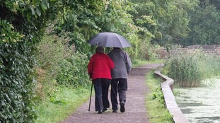 Expect rain this weekend, especially in the Pennines and Dales