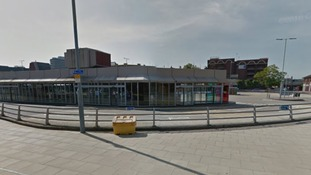 Police say the man followed the victim towards the bus station, where he pushed her up against the railings and sexually assaulted her.