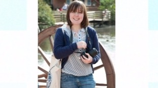 Zoo keeper Sarah McClay.