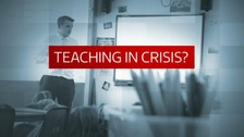 All week we've been finding out if teaching really is in crisis