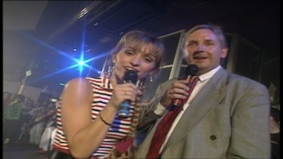 Pete Waterman and Michaela Strachan presented the Hit Man and Her