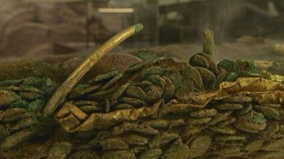 Celtic coin hoard