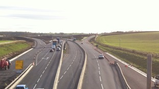 Part closure of A1 as Fort Bridge is demolished in North Yorkshire